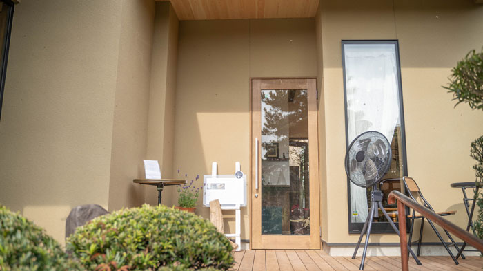 「喫茶 コンソラ」入口画像