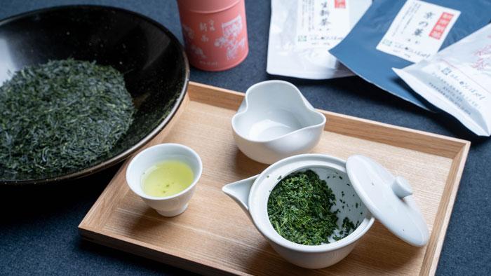 「お茶のかんばやし」さんの新茶の画像