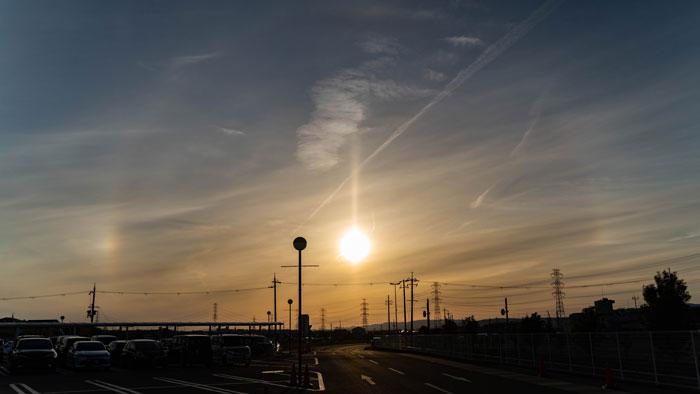 夕日の画像
