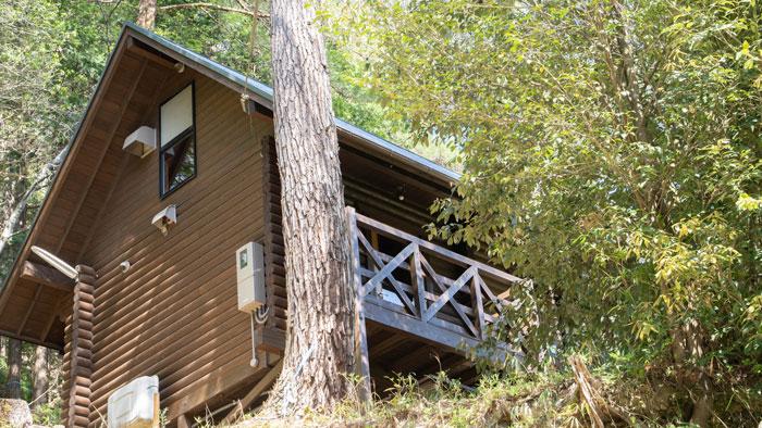 山城森林公園宿泊棟の画像