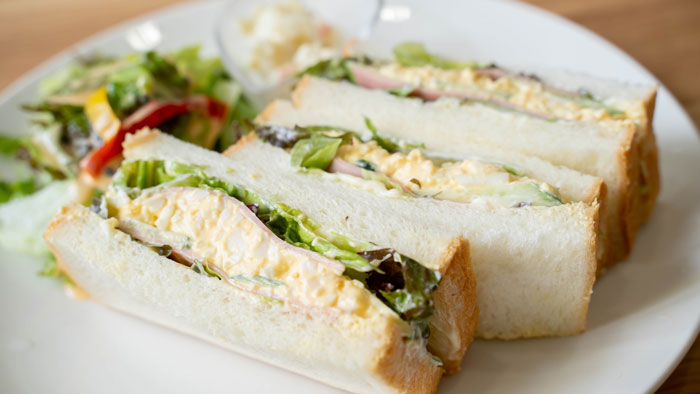サンドイッチのアップ画像