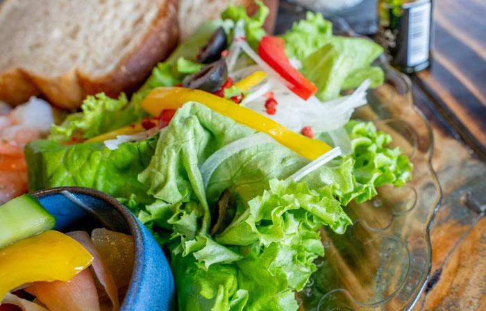 サラダ画像