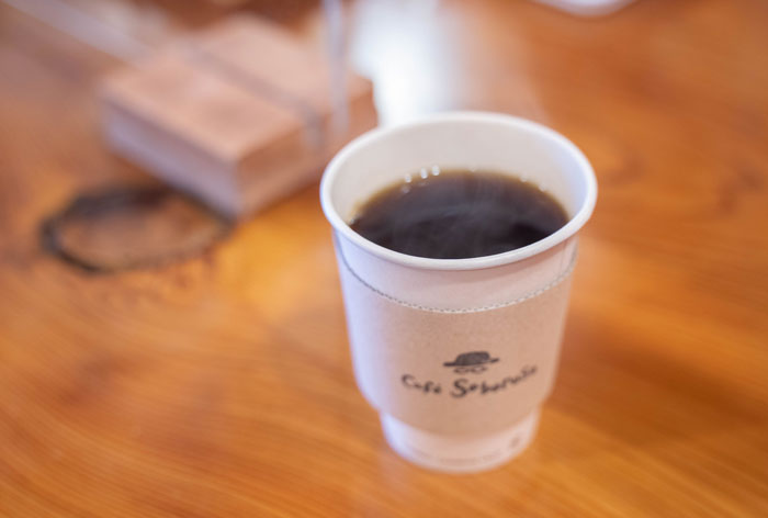 ライブブレンドコーヒーの画像