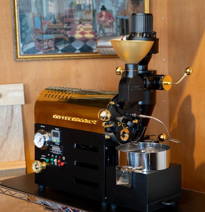 「ジャズ喫茶トレイン」コーヒーメーカーの画像