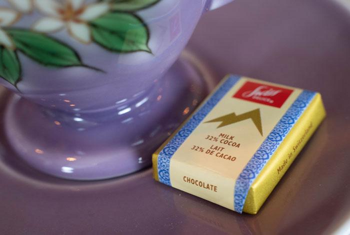 「ジャズ喫茶トレイン」チョコレートの画像