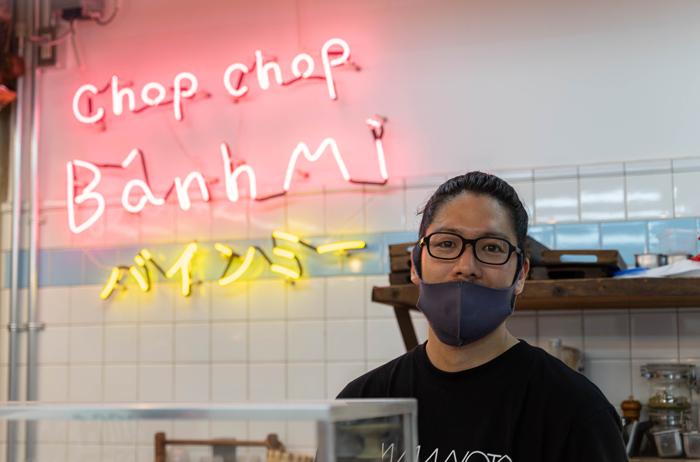「Chop Chop Banh Mi」山中氏の画像