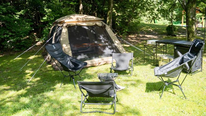 アーバン手ぶらキャンプサイトの画像