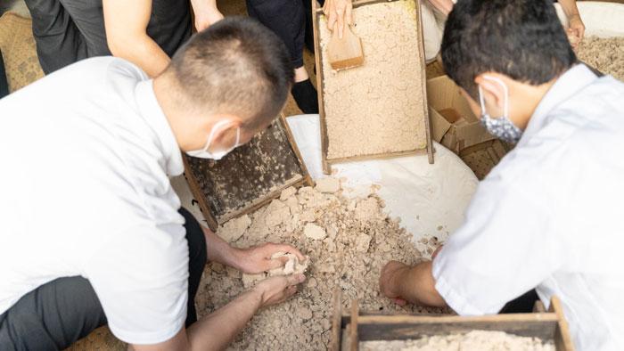一休寺納豆取材日の工程2の画像
