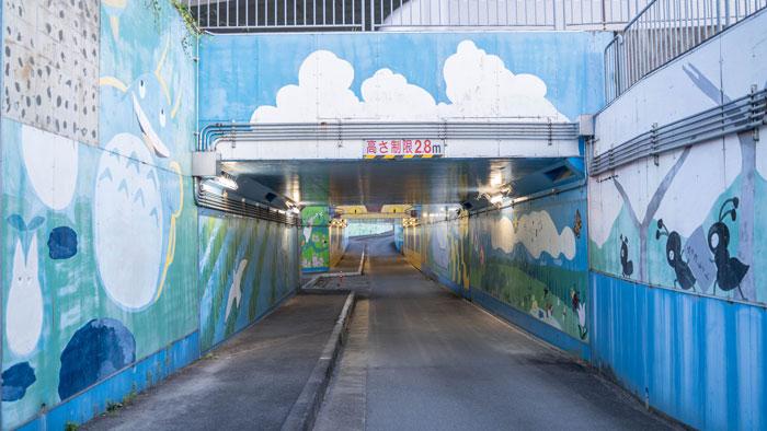 ネコバストンネル全体画像