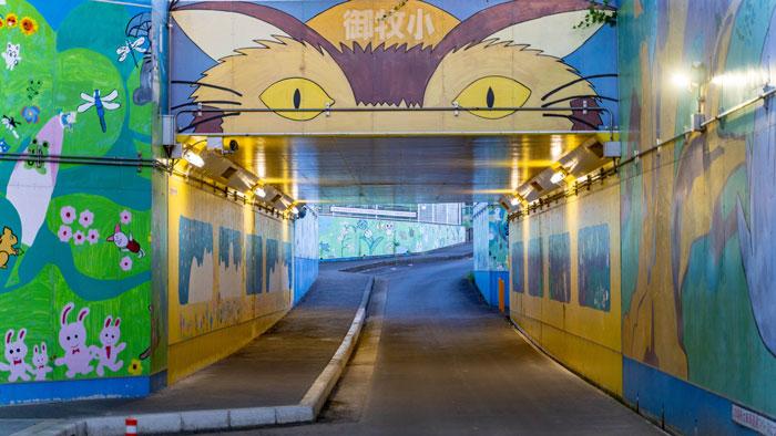 ネコバストンネルの画像