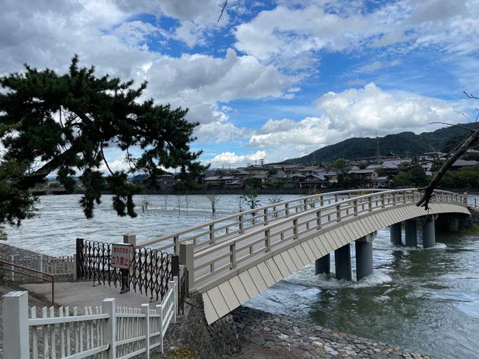 8月20日の宇治川の画像