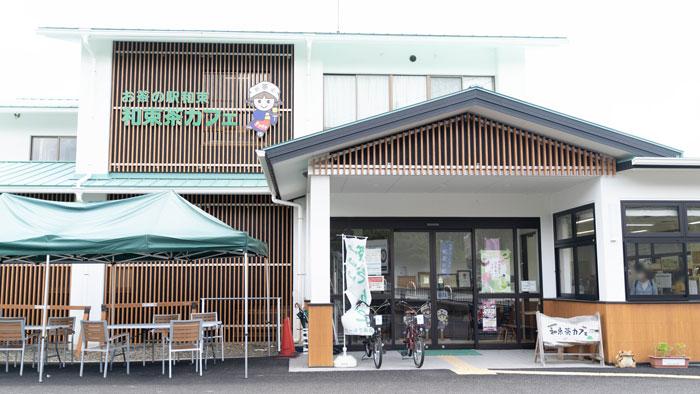 和束茶カフェの外観画像