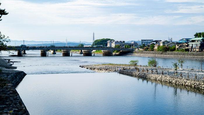 現在の宇治川の画像
