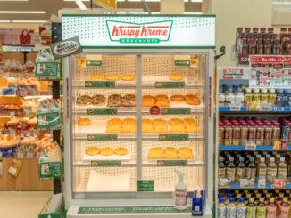 「スーパーマーケット ミスギヤ 京都八幡店」のクリスピークリームドーナツコーナーの画像