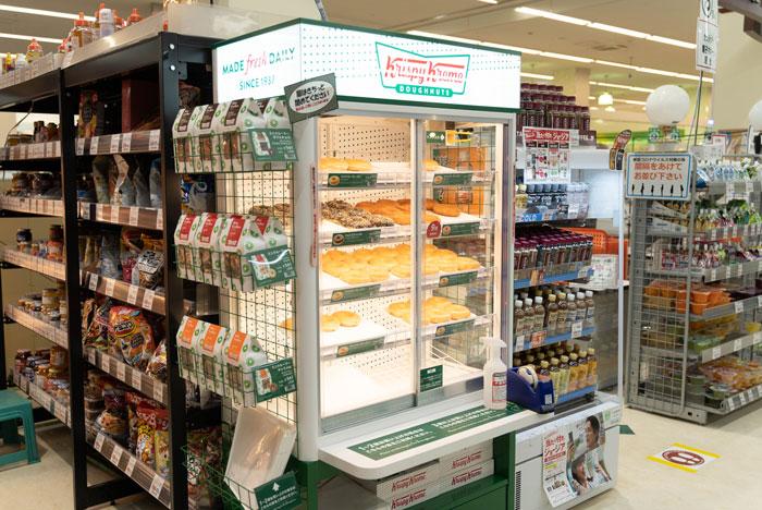 クリスピー・クリーム・ドーナツのコーナーの画像