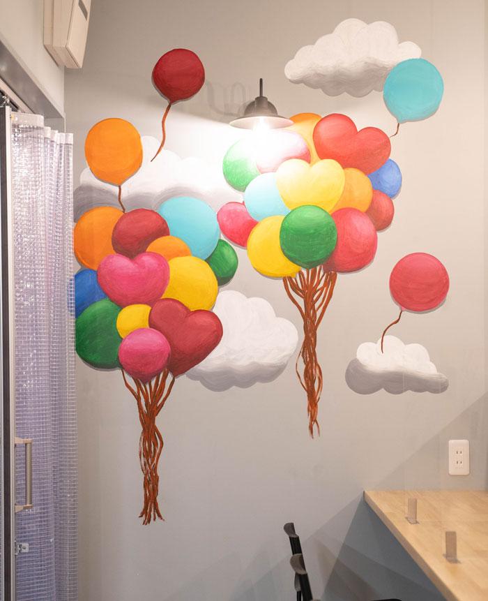 「Food Park(フードパーク)」風船の画像