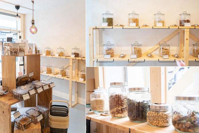 「Plus Nuts」店内の色んな画像
