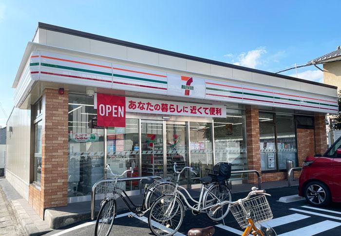 「セブンイレブン 宇治近鉄小倉駅西店」外観画像